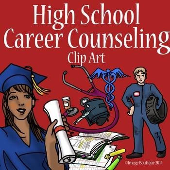 High School Career and Success Clip Art