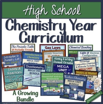 High School Chemistry Year Curriculum