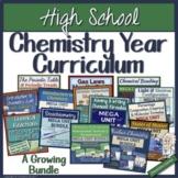 High School Chemistry Year Curriculum - A Growing Bundle
