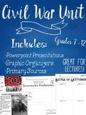 High School Civil War Unit