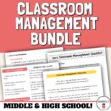 High School Classroom Management Strategies Bundle