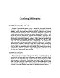 High School Coaching Portfolio
