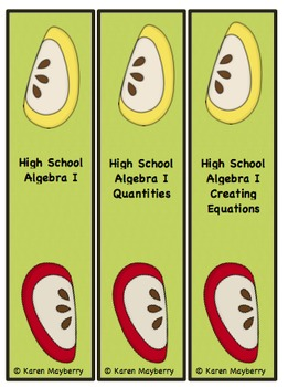 Common Core Planning Template and Organizer for Algebra I