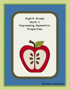 Common Core Template and Organizer for Integrated Math Package