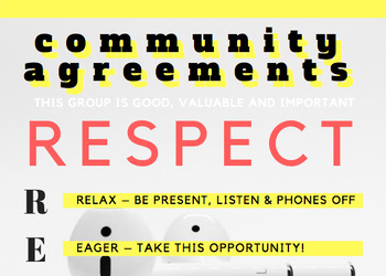 High School Community Agreements