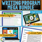 WRITING PROGRAM!! - MEGA BUNDLE!! 35 LESSONS!! - High School