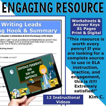 WRITING PROGRAM!! - MEGA BUNDLE!! 35 LESSONS!! - High School