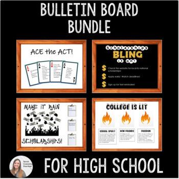 Bulletin Board Bundle- High School Counseling