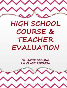 High School Course Evaulation
