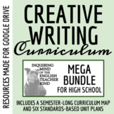 High School Creative Writing Bundle: Narrative Writing, Grammar Resources, Etc.