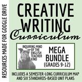 High School Creative Writing Bundle - Complete Semester Cu