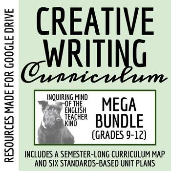 High School Creative Writing Bundle: Narrative Writing, Grammar Resources,  Etc