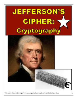 High School Cryptography and Thomas Jefferson History Activity