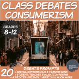 Middle/High School Package Debates: Consumerism