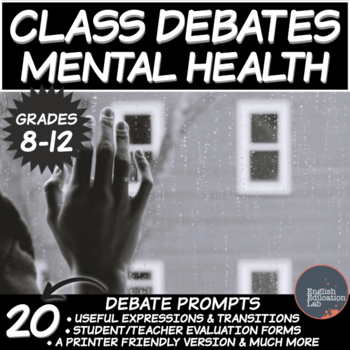 High School Debates: Mental Health