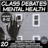 Middle/High School Debates Package: Mental Health
