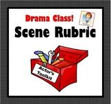 Drama Class! Scene Rubric