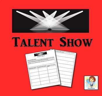 Drama Class! Talent Show