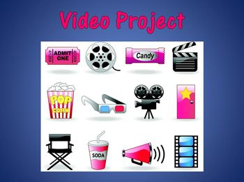 Drama Class! Video Project Packet