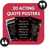 High School Drama Posters - 20 Posters Featuring Quotes Ab