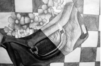 High School Drawing Assignment - Photo Continuation