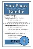 High School ELA Sub Plans Bundle Pack