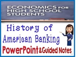 High School Economics History of American Banking PowerPoi