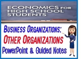 High School Economics Other Organizations PowerPoint  Guid