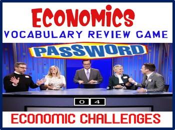 High School Economics Password Review Game Economic Challenges