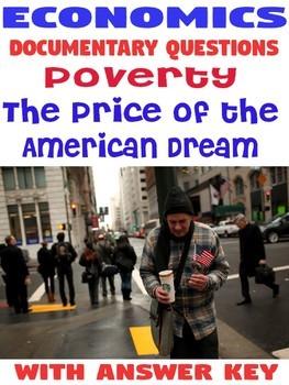 High School Economics Poverty The Price of the American Dream documentary KEY