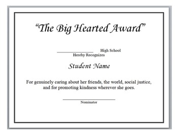 150 End of the Year Awards (Editable)