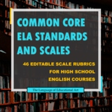 High School ELA Common Core Standards and Scales