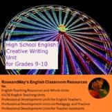 High School English: Creative Writing Unit for Grades 9-10