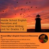 Middle School English: Narrative and Descriptive Writing U
