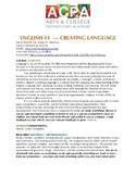 High School English Language Arts Syllabus