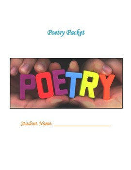 High School English Poetry Packet
