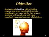 High School English Professional Development Presentation - Creating Purpose