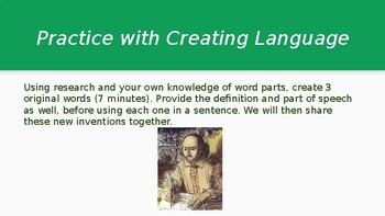 High School English Professional Development - Vocabulary & Assessment