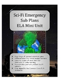 Sci-Fi Emergency Sub Plans eLearning ELA Mini Unit