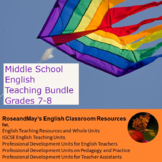Middle School English: Whole Term Teaching Bundle for Grades 7-8