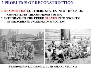 High School Era of Reconstruction PPT