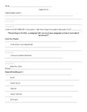 High School Essay Outline