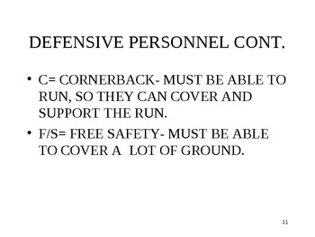 High School Football 3-5 defense