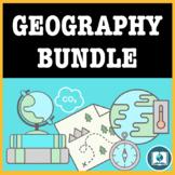 High School Geography Bundle: Mental Maps, Climate Change,