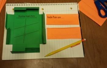 High School Geometry Foldable Bundle~10 sets~Triangles~Similar Figures~& More
