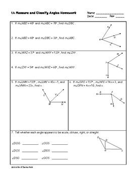 High School Geometry Homework Bundle