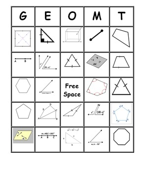 Geometry worksheets for highschool students