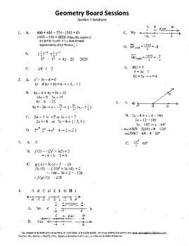 High School Geometry,Mathematics,Algebra,activities,Combo +  Package 14