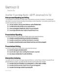 High School German 3 Learning Goals