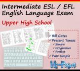 High School Grade 12 Intermediate ESL English Language Exam, Bill Gates, Grammar